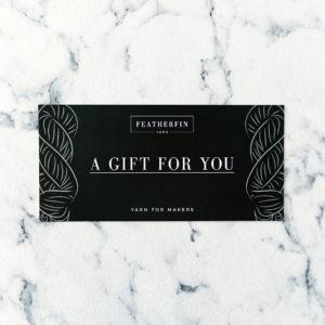 Featherfin Yarn Gift Card Voucher
